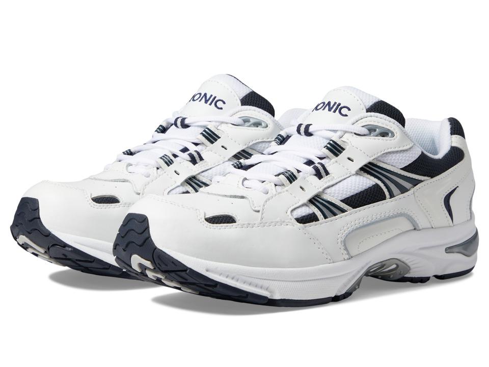 Vionic Walker (White/Navy) Men's  Shoes