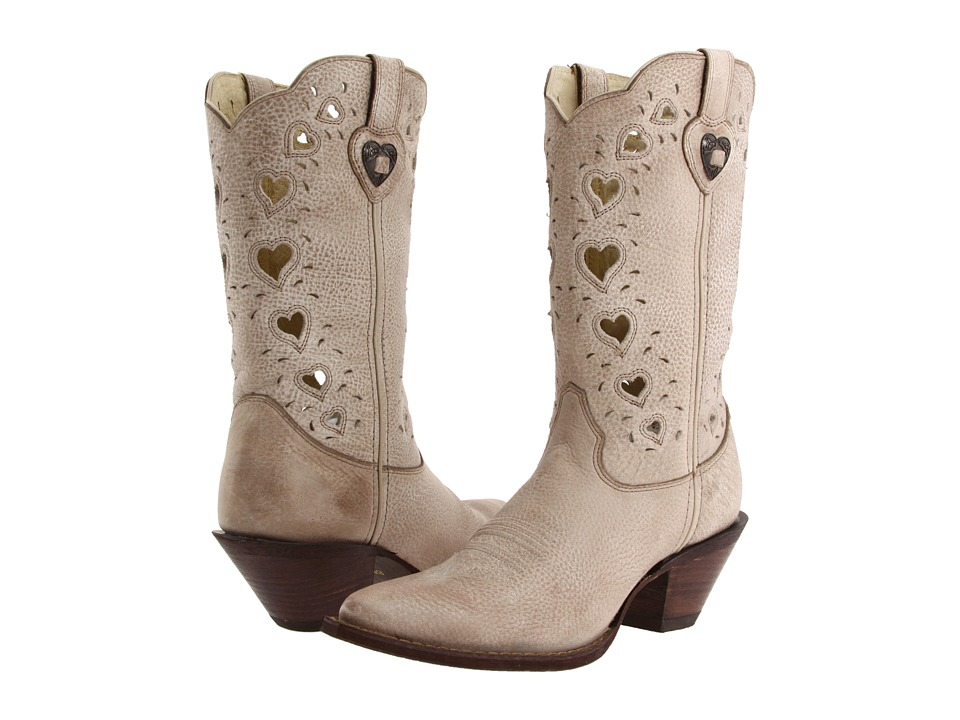 Durango Crush Heart (Light Taupe) Western Boots