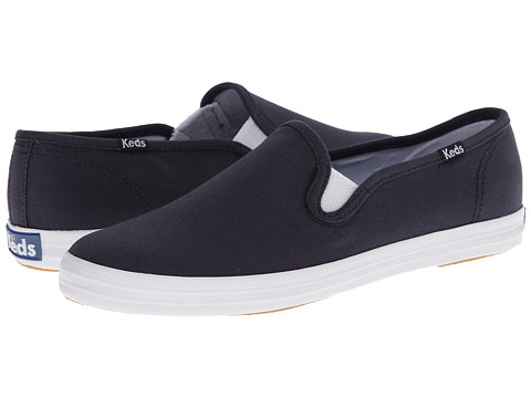 keds leather slip on sneakers