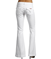 Hudson - Ferris Flap Pocket Flare in White