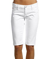 Hudson - Viceroy Knee Short in White