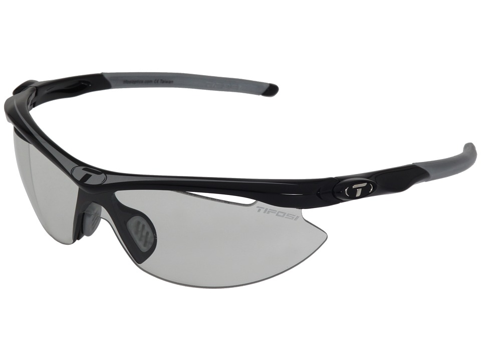 Tifosi Optics Sliptm Fototectm Light Night (Race Silver/Light Night Fototec Lens) Sport Sunglasses