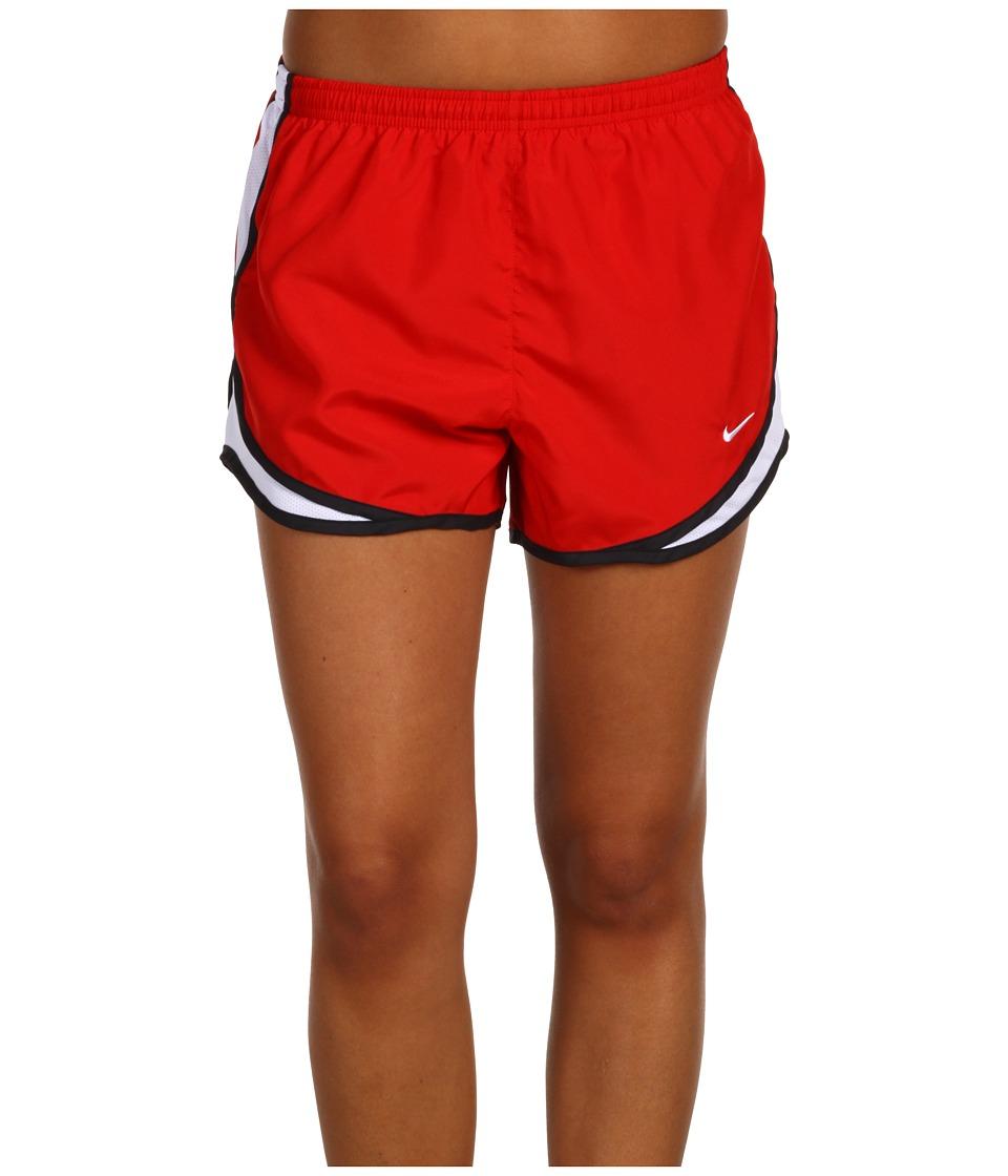 Nike Dri-FIT Tempo Track 3.5 Short (Sport Red/White/Black/White) Women