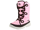The North Face Kids - Destiny Boot (Toddler/Youth) (Begonia Pink (Plaid)/Demitasse Brown) - Footwear