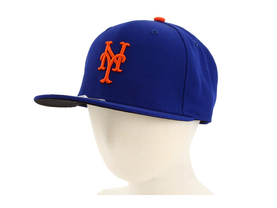 New Era 59FIFTY Authentic On Field New York Mets Youth Home Caps