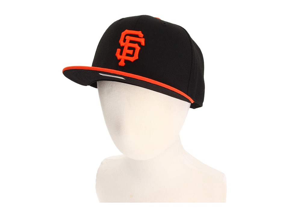 New Era 59FIFTY Authentic On Field San Francisco Giants Youth Black Caps