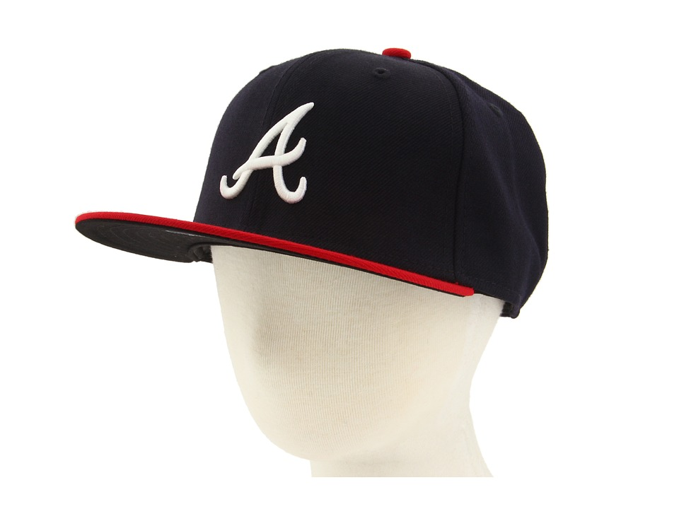 New Era 59FIFTY Authentic On Field Atlanta Braves Youth Home Caps