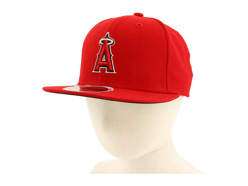 New Era 59FIFTY Authentic On Field Los Angles Angels of Anaheim Youth Game Caps