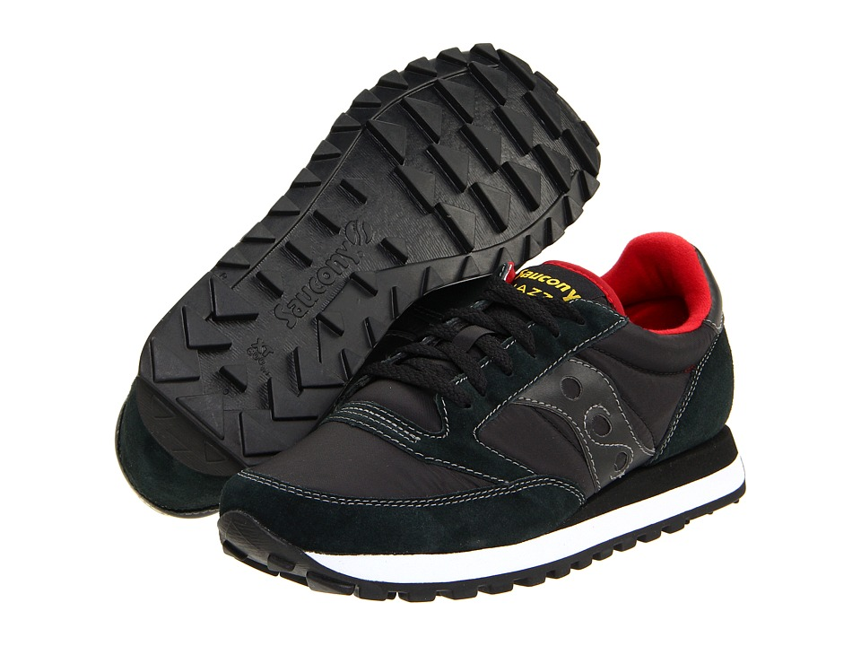 Saucony Originals - Jazz Original (Black/Red) Men