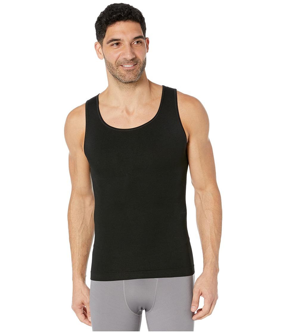 Spanx for Men - Zoned Performance Tank (Black) Men's Underwear