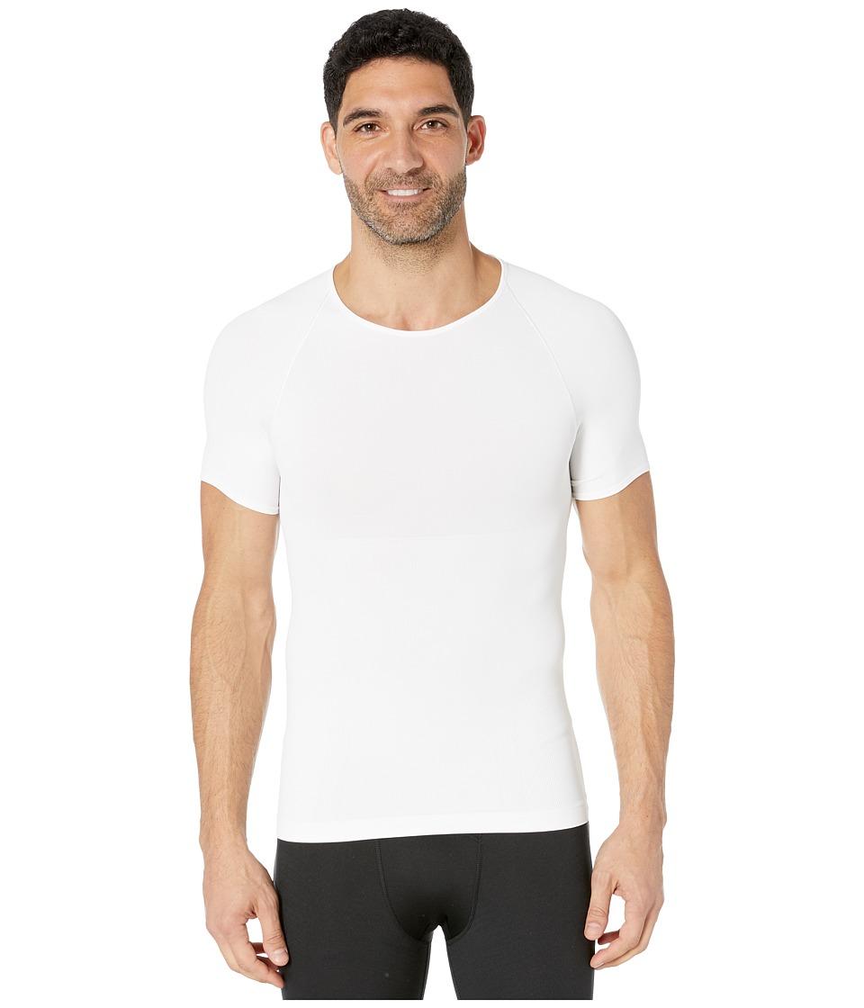 Spanx for Men - Zoned Performance Crew Neck (White) Men's Underwear