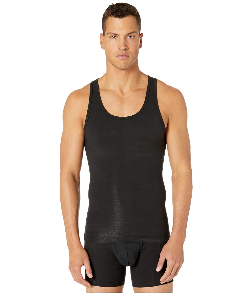 Spanx for Men - Cotton Compression Tank (Black) Men's Underwear