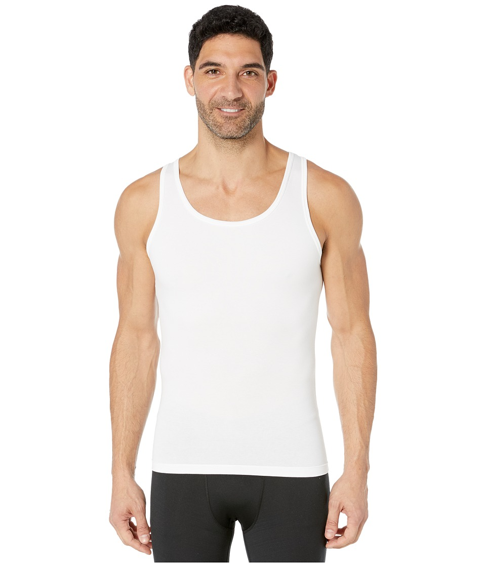 Spanx for Men Cotton Compression Tank White Mens Underwear