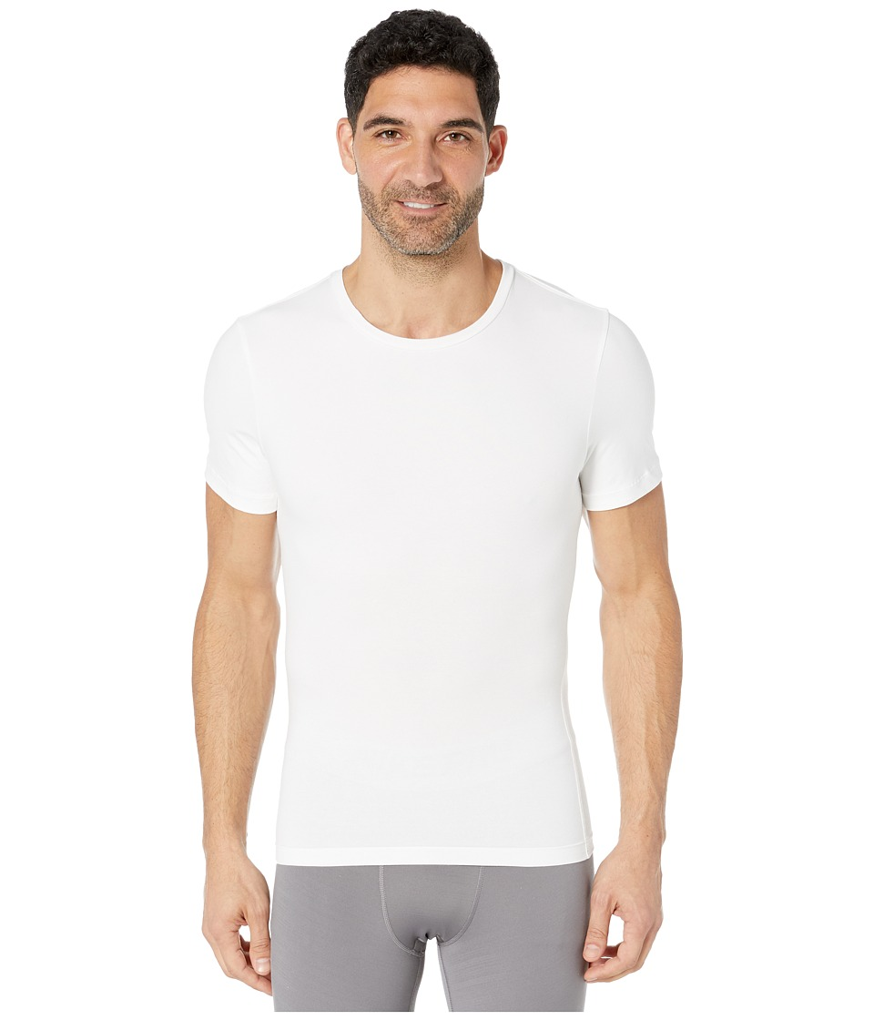 Spanx for Men Cotton Compression Crew (White) Men's Underwear