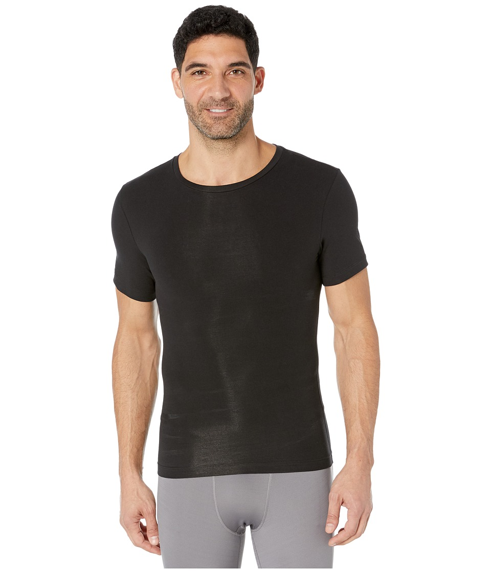 Spanx for Men Cotton Compression Crew Black Mens Underwear