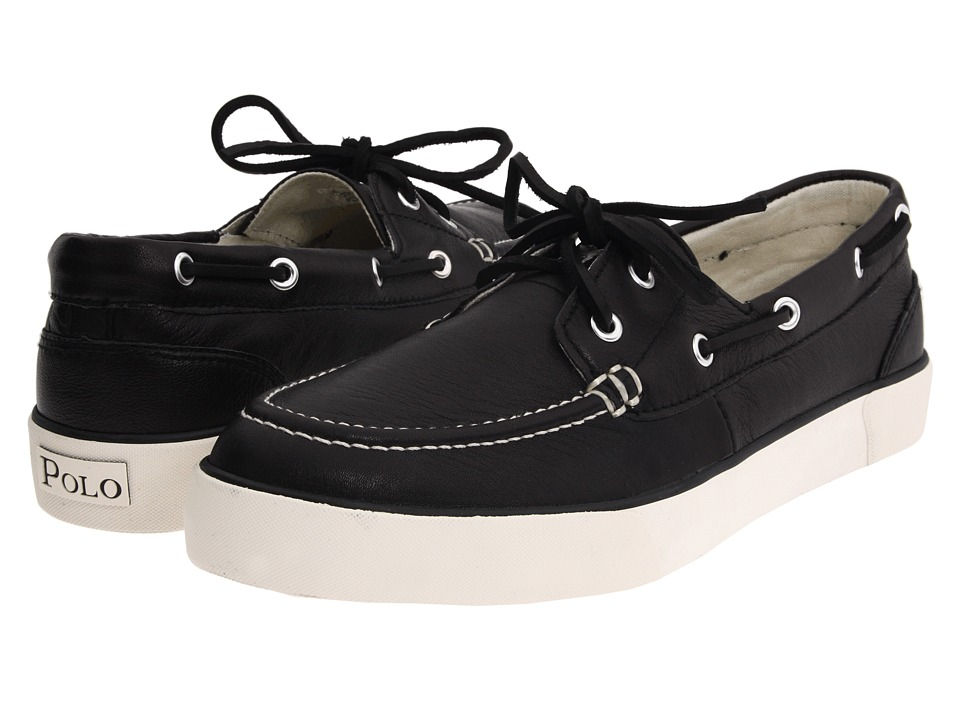 Polo Ralph Lauren - Sander (Black Leather) Men