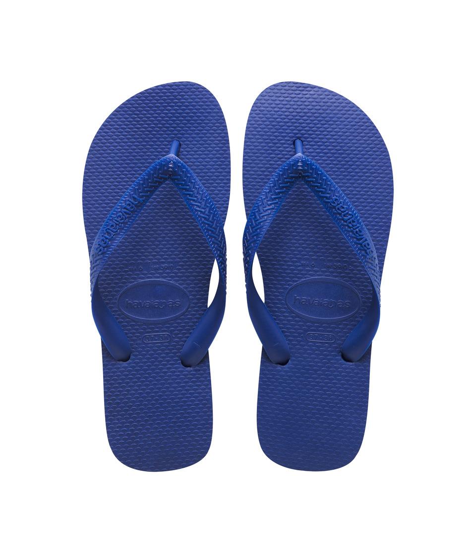 Havaianas Kids Top Flip Flops Toddler/Little Kid/Big Kid Marine Blue Kids Shoes