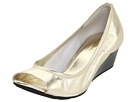 Cole Haan - Air Tali OT Wedge 40 (White Gold Metallic) - Footwear