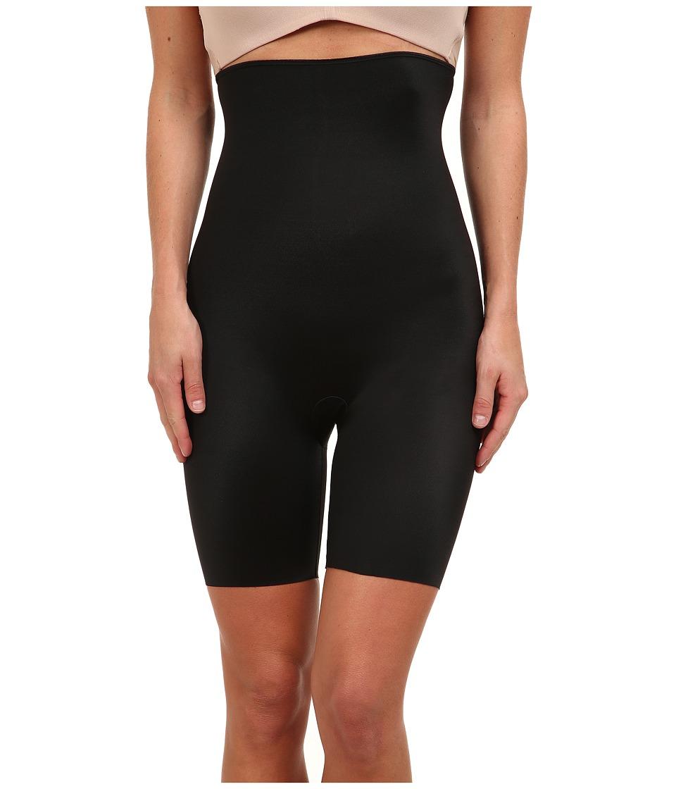 Spanx Slimplicity High Waisted Shaper Black Womens Underwear