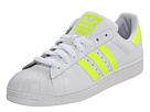 adidas Originals - Superstar 2 (White/Electricity/White) - Footwear