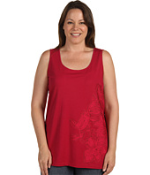 DKNYC - Plus Size Tank Top With Applique