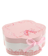 Mele - Ella-Girls Ballerina Hatbox Jewelry Box