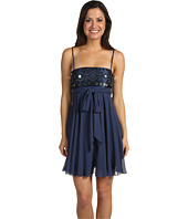 BCBGMAXAZRIA - Beaded Strapless Dress