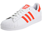 adidas Originals - Superstar 2 (White/Infrared/White) - Footwear