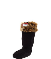 Hunter Kids - Leopard Cuff Welly Sock FA11 (Youth)