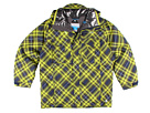 Columbia Kids - Rugged Peak Jacket (Big Kids) (Columbia Navy Plaid) - Apparel