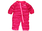 The North Face Kids - Lil' Snuggler Down Zip Front Bunting (Infant) (Fusion Pink) - Apparel