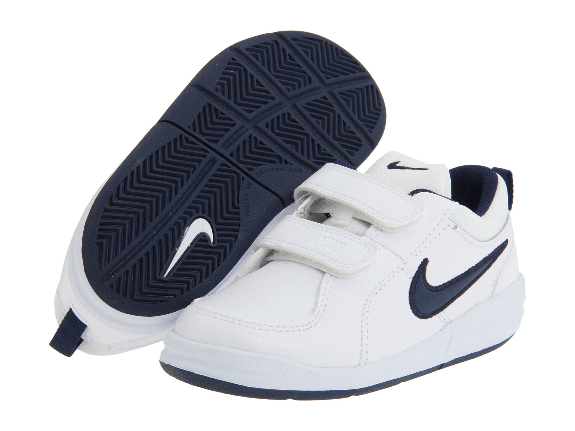 nike pico 4 infant toddler white midnight navy