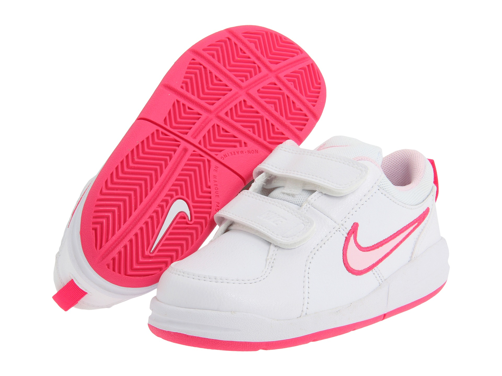 Nike Kids Pico Infant Toddler White Spark Prism Pink