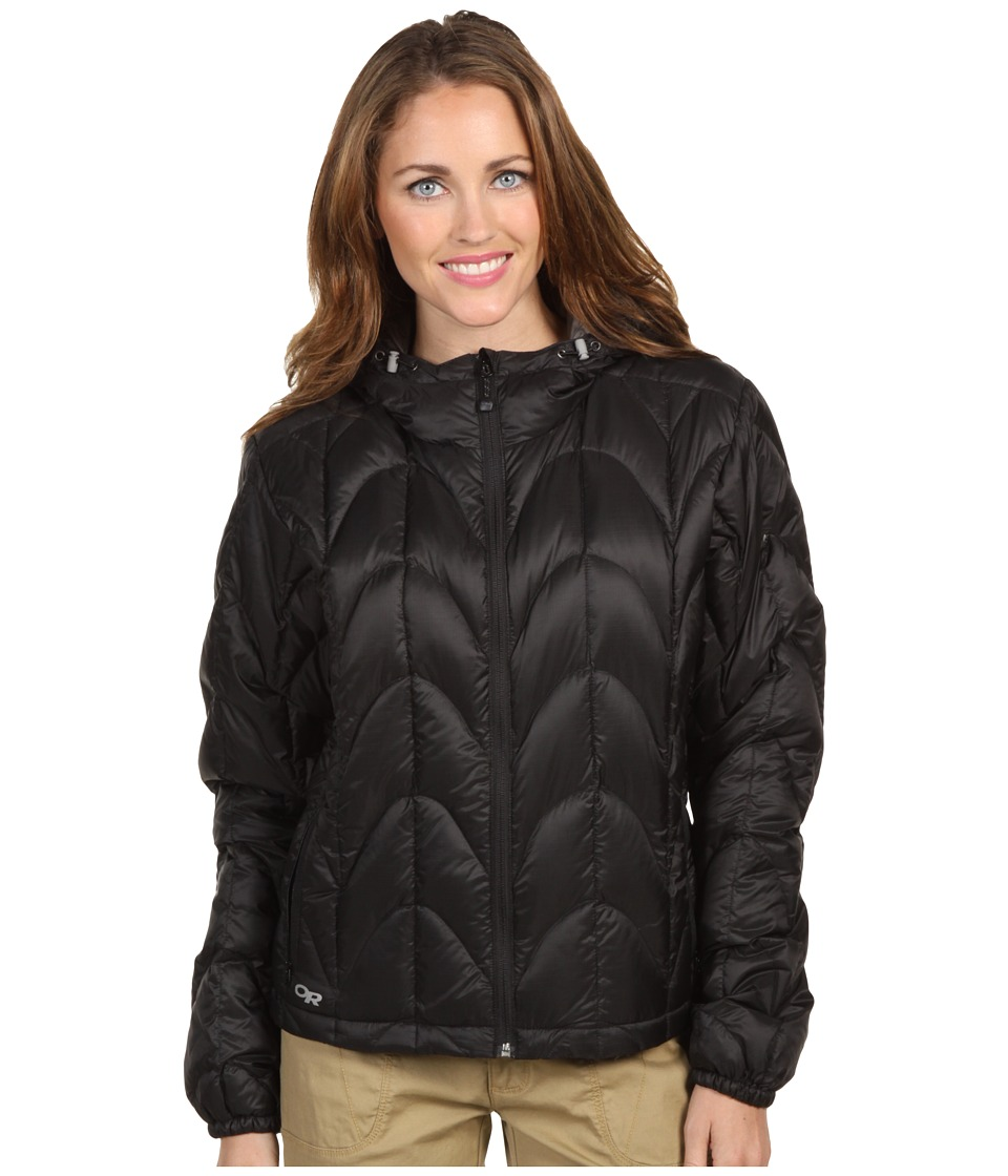 Outdoor Research Aria Hoodie Black Womens Coat