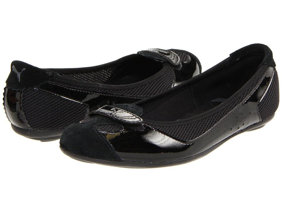PUMA - Zandy Patent Wns (Black) Womens  Shoes