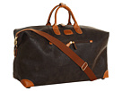 Bric's Milano Life Micro-Suede Large Holdall Travel Bag (New Olive)