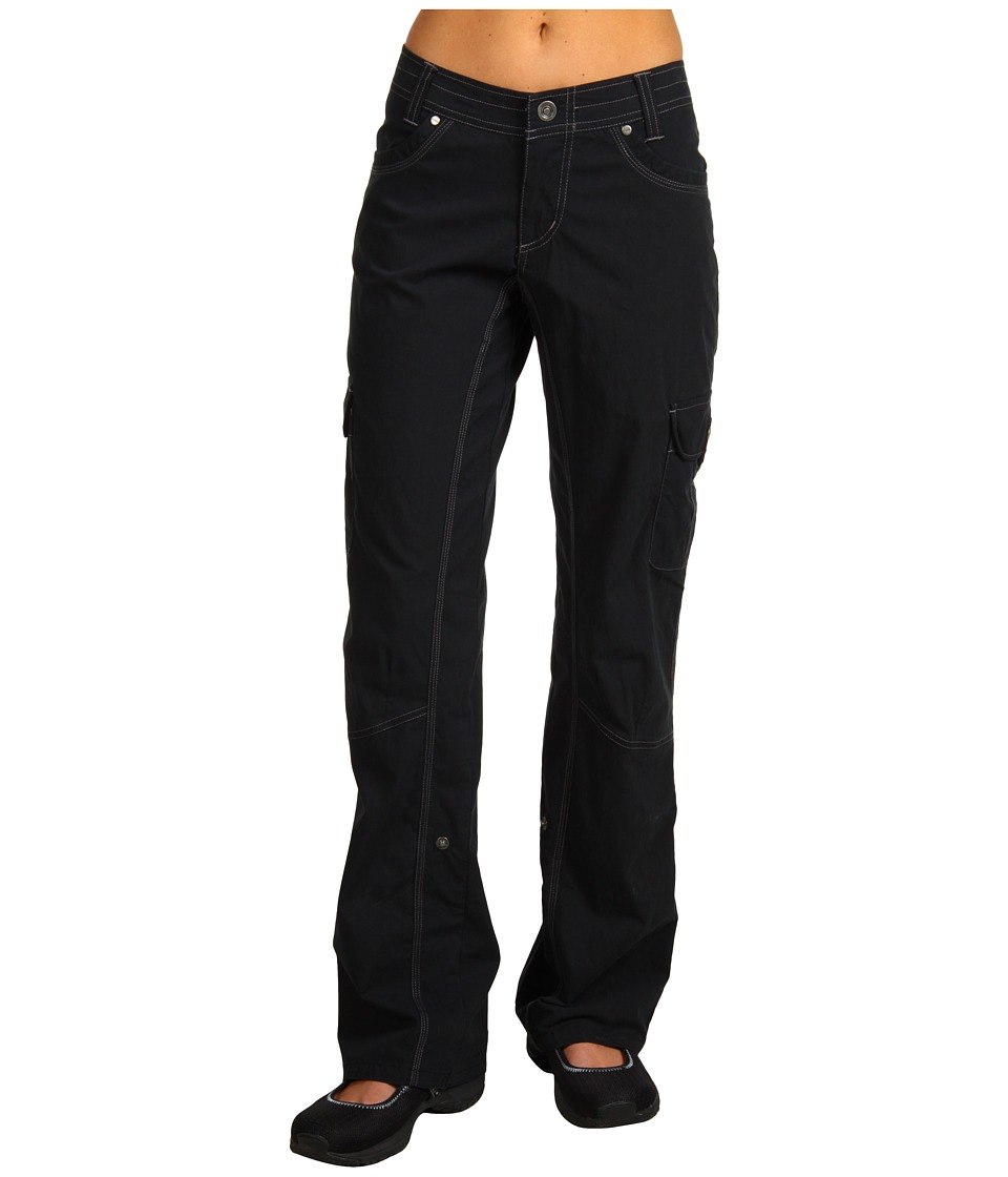 KUHL - Splash Roll-Up Pant (Black) Womens Casual Pants