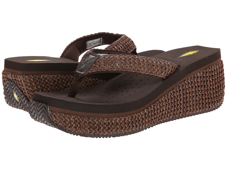 VOLATILE Island (Brown) Wedge Shoes