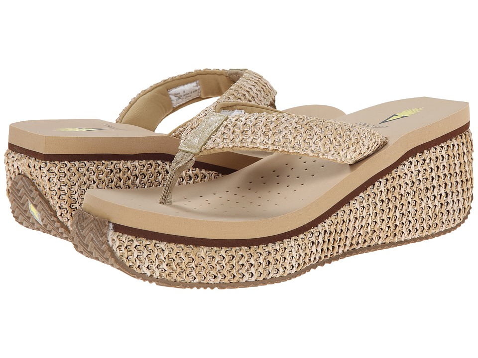 VOLATILE Island (Natural) Wedge Shoes
