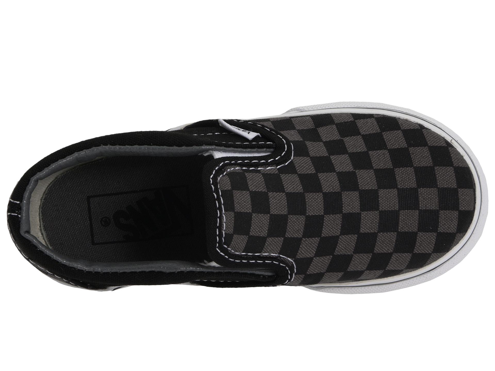 boys vans classic slip on shoes