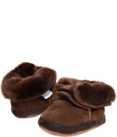Robeez - Cozy Ankle Bootie Brown Soft Soles (Infant/Toddler)