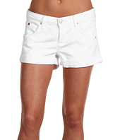 Hudson - Hampton Cuffed Short Short in White