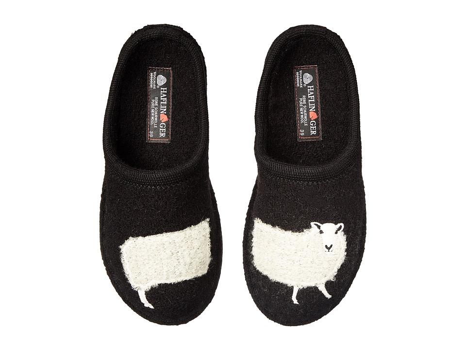 Haflinger Sheep Slipper (Black) Slippers