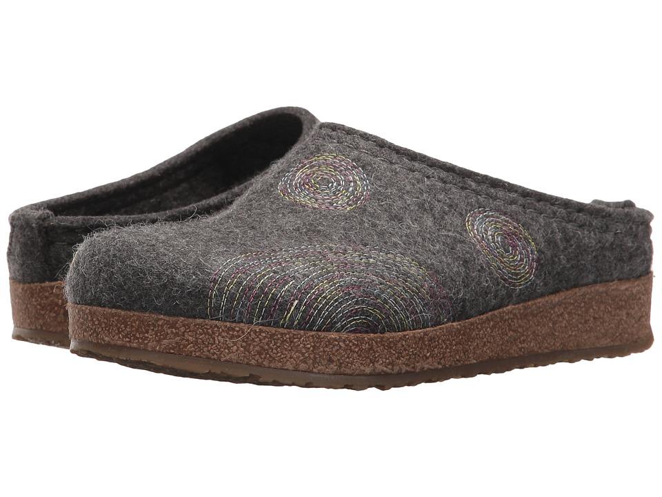Haflinger - Spirit (Grey) Womens Clog Shoes