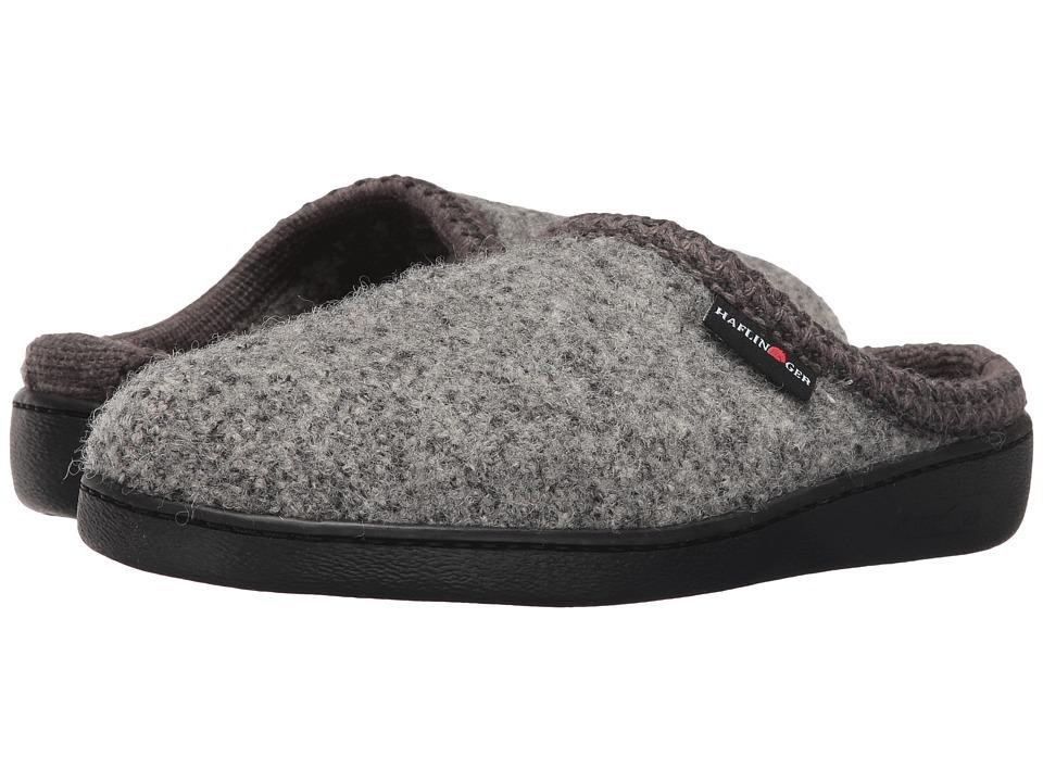 Haflinger - AT Classic Hardsole (Grey Speckle) Slippers