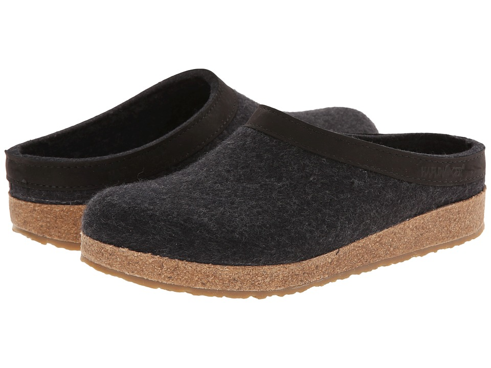 Haflinger of Germany GZL Leather Trim Grizzly (Charcoal) ...