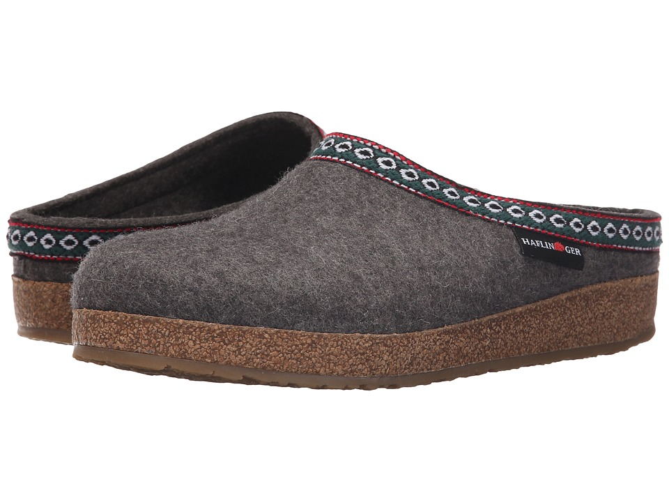 Haflinger - GZ Classic Grizzly (Grey) Clog Shoes