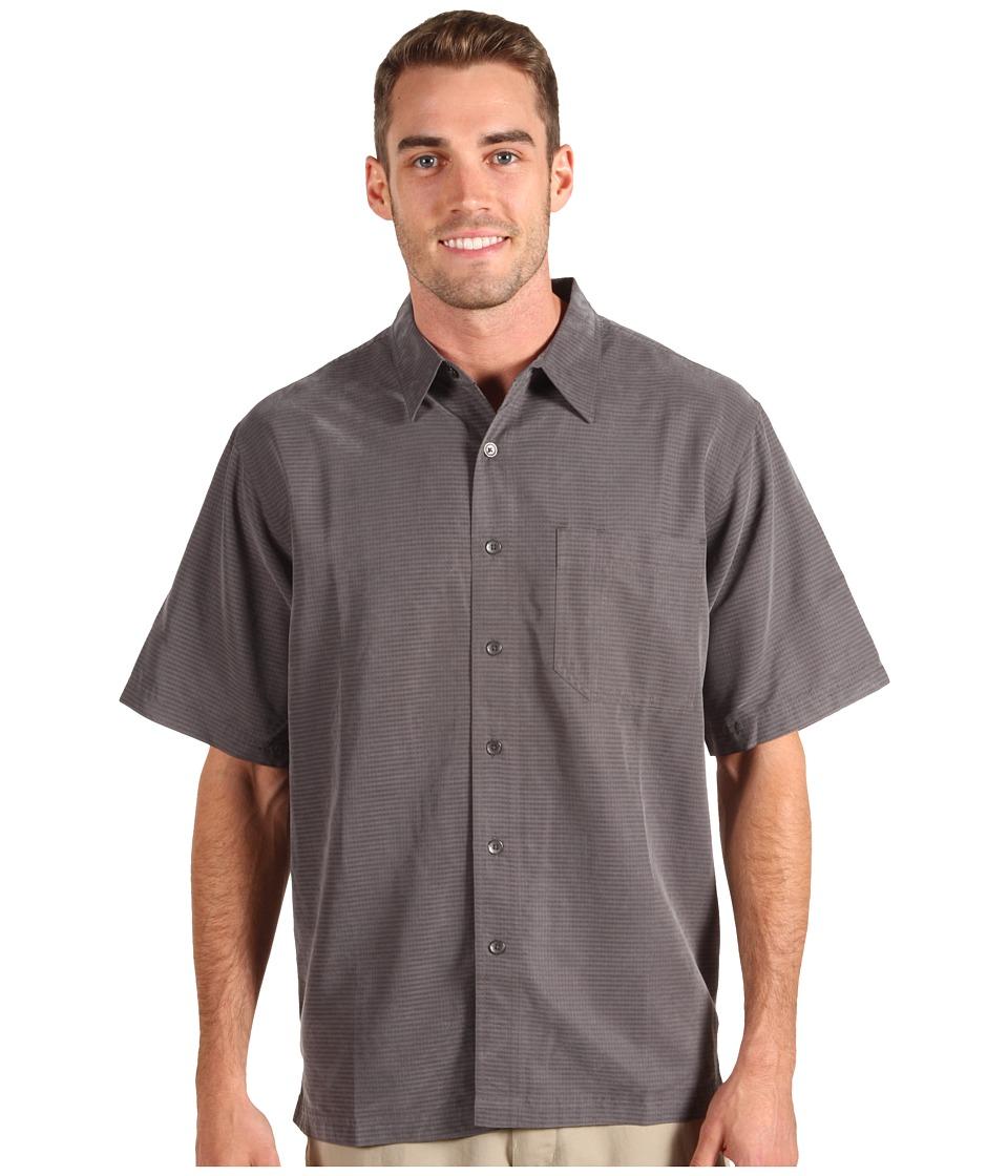 Royal Robbins Desert Pucker S/S Shirt Obsidian Mens Short Sleeve Button Up