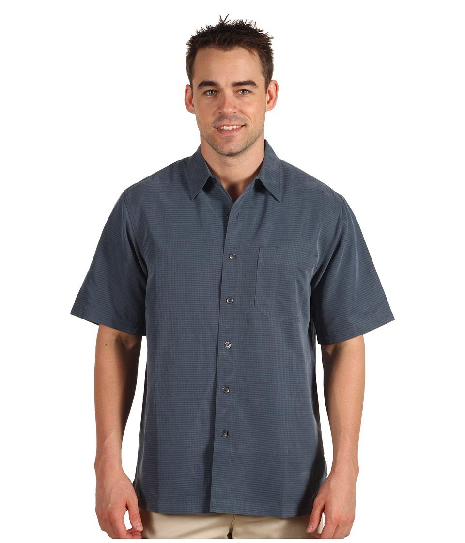 Royal Robbins Desert Pucker S/S Slate Mens Short Sleeve Button Up