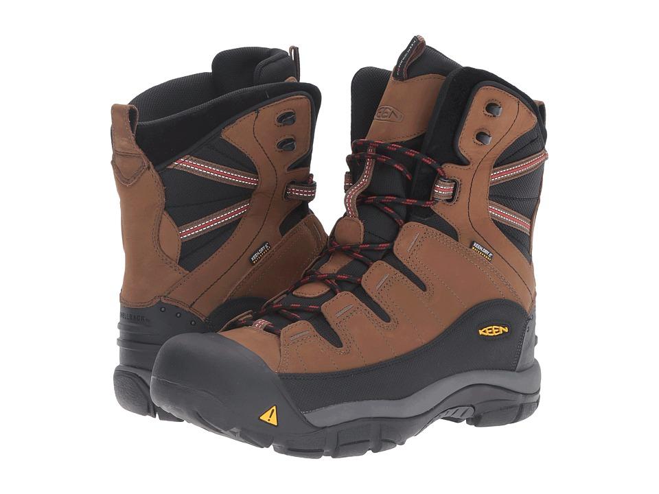 Keen - Summit County (Dark Earth/Bossa Nova) Mens Cold Weather Boots